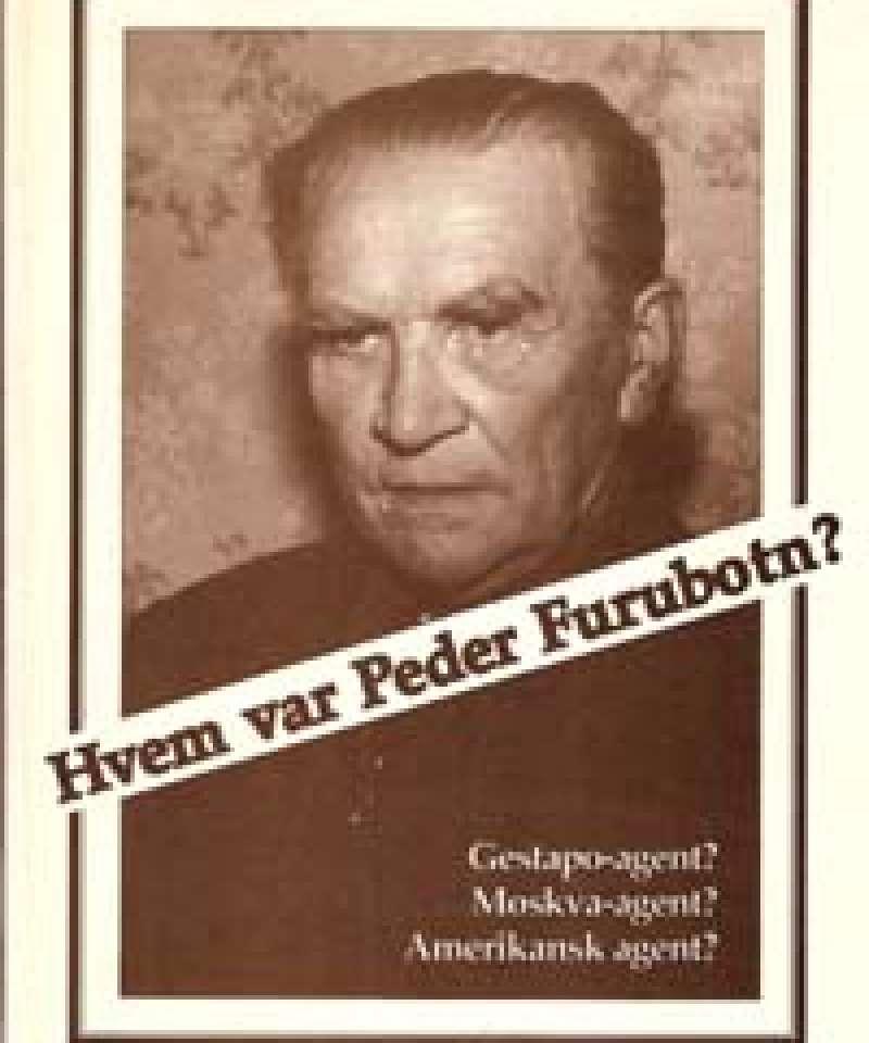 Hvem var Peder Furubotn?