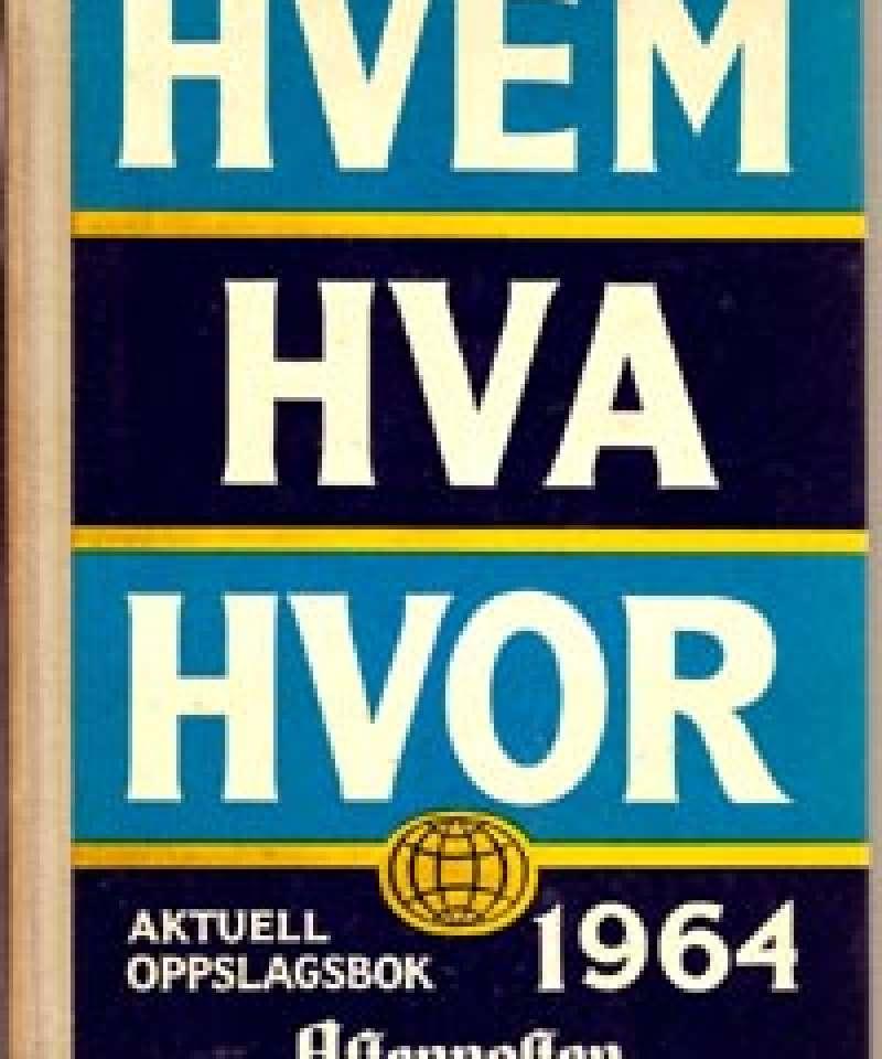 Hvem Hva Hvor 1964