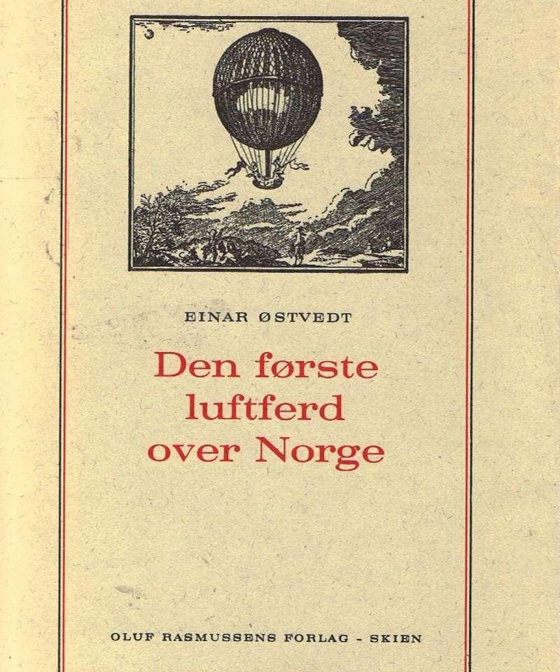 Den første luftferd over Norge