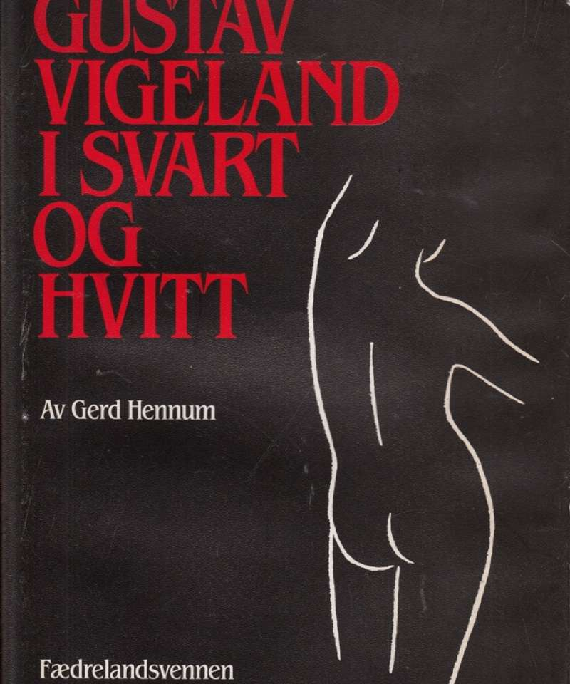 Gustav Vigeland i svart og hvitt