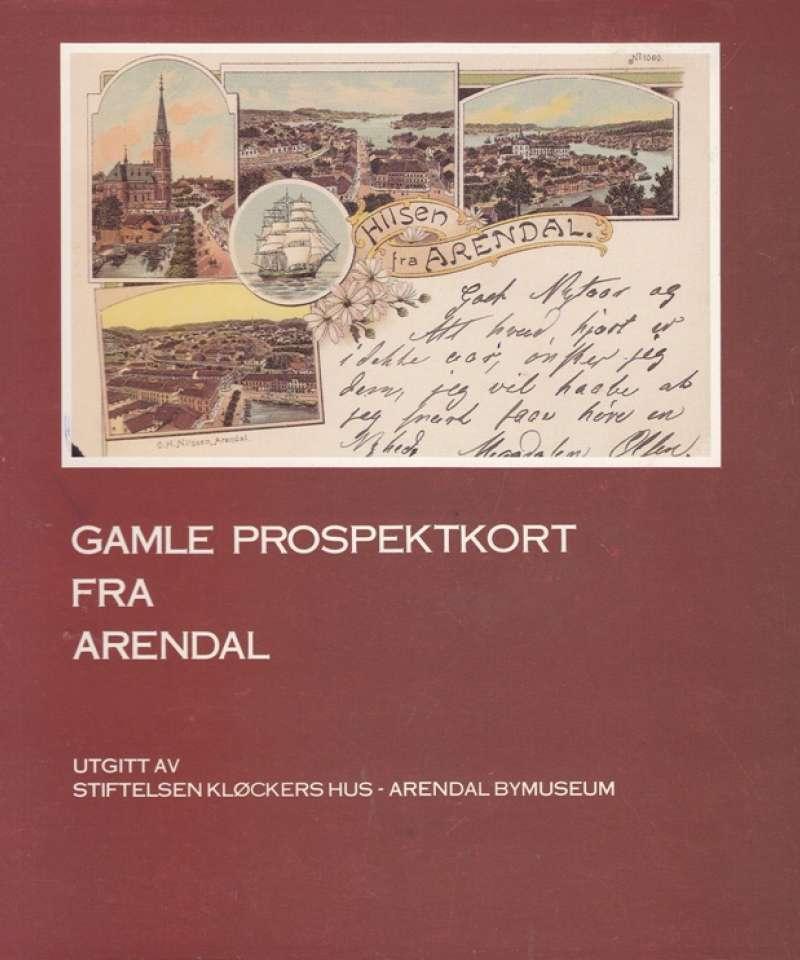 Gamle prospektkort fra Arendal
