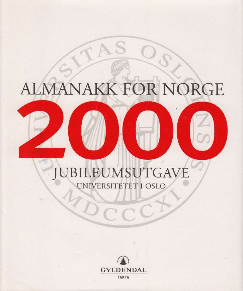Almanakk for Norge 2000. Jubileumsutgave