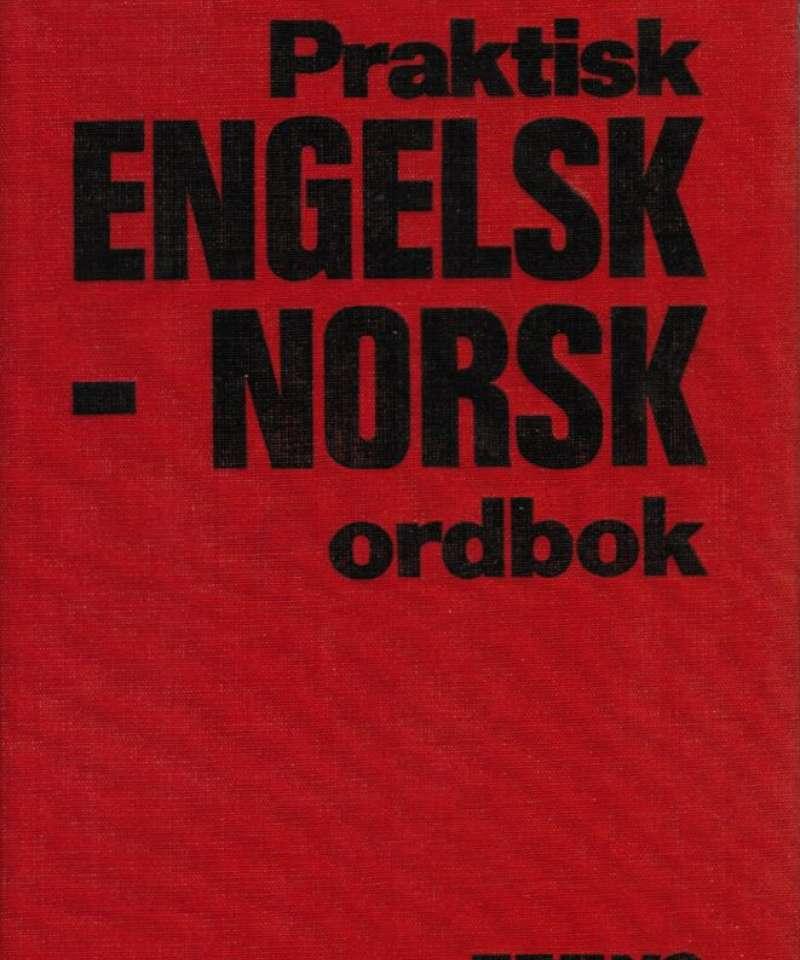 Praktisk engelsk - norsk ordbok