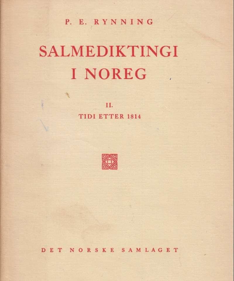 Salmediktingi i Noreg II. Tidi etter 1814