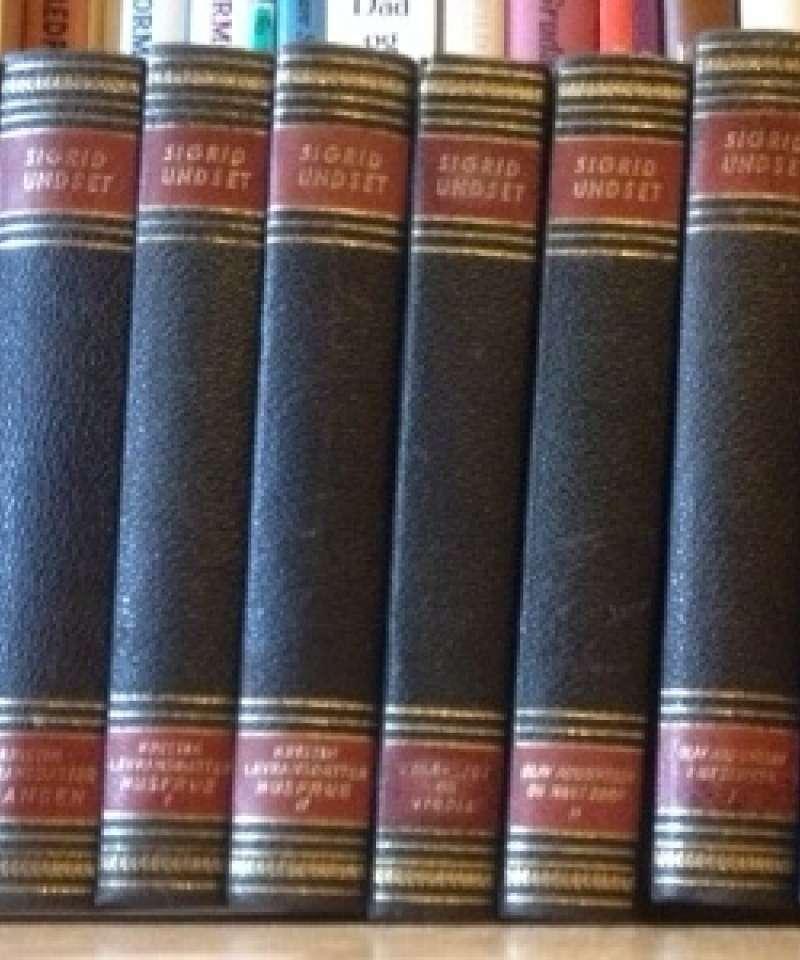 Middelalder-romaner I-X (Sigrid Undset)