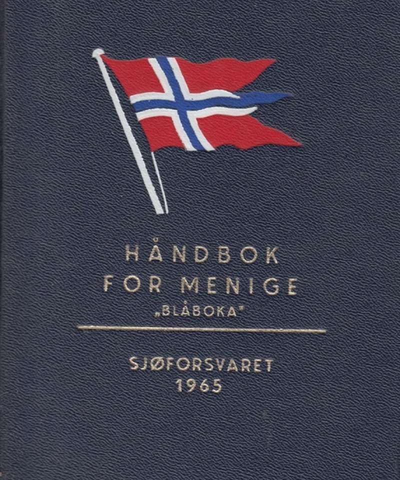 HÅNDBOK FOR MENIGE: Blåboka. 1965