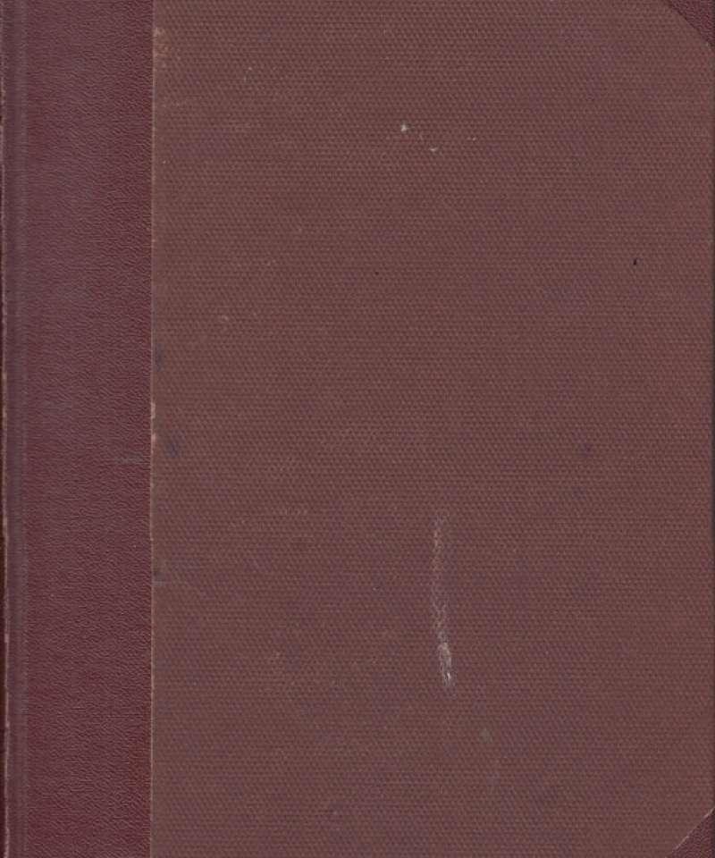 Tidsskrift for husstell-lærerinner 1937, 1939, 1940, 1941, 1941