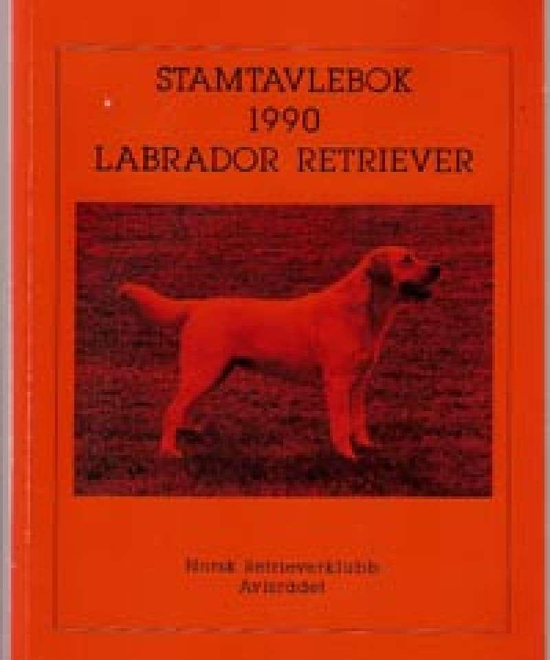 Stamtavlebok 1990 Labrador Retriver