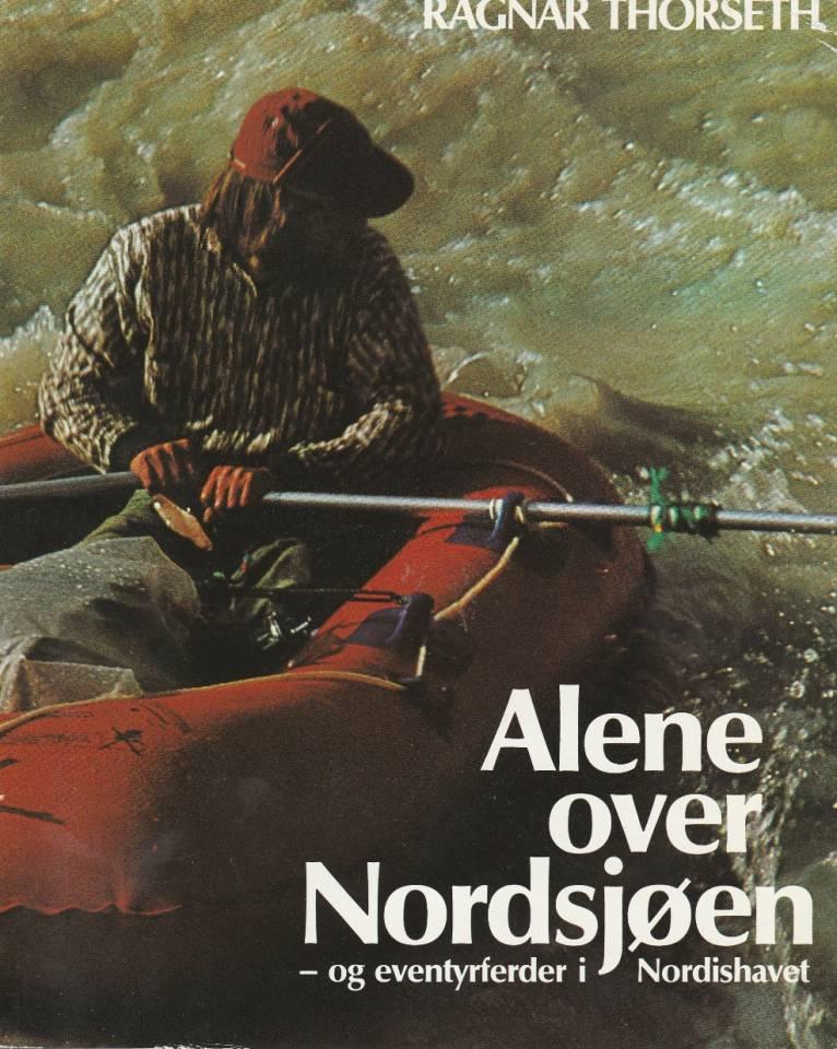 Alene over Nordsjøen