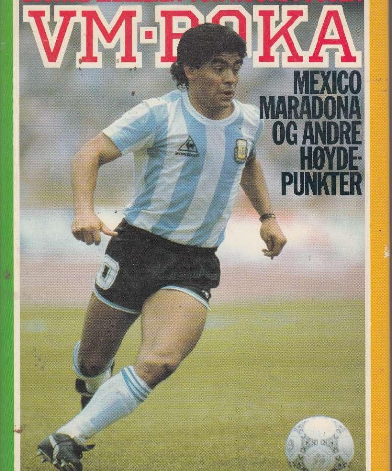 VM-boka Mexico, Maradona og andre høydepunkter (Fra Arne Scheies samlinger)