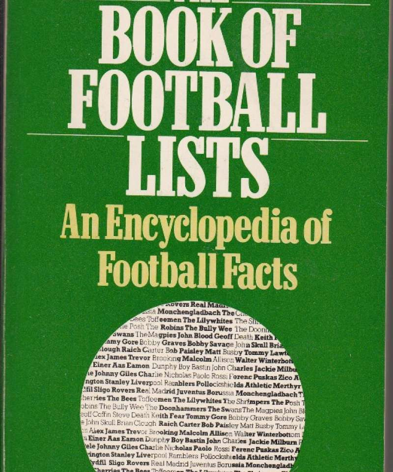 The Book of Football Lists (Fra Arne Scheies samlinger)