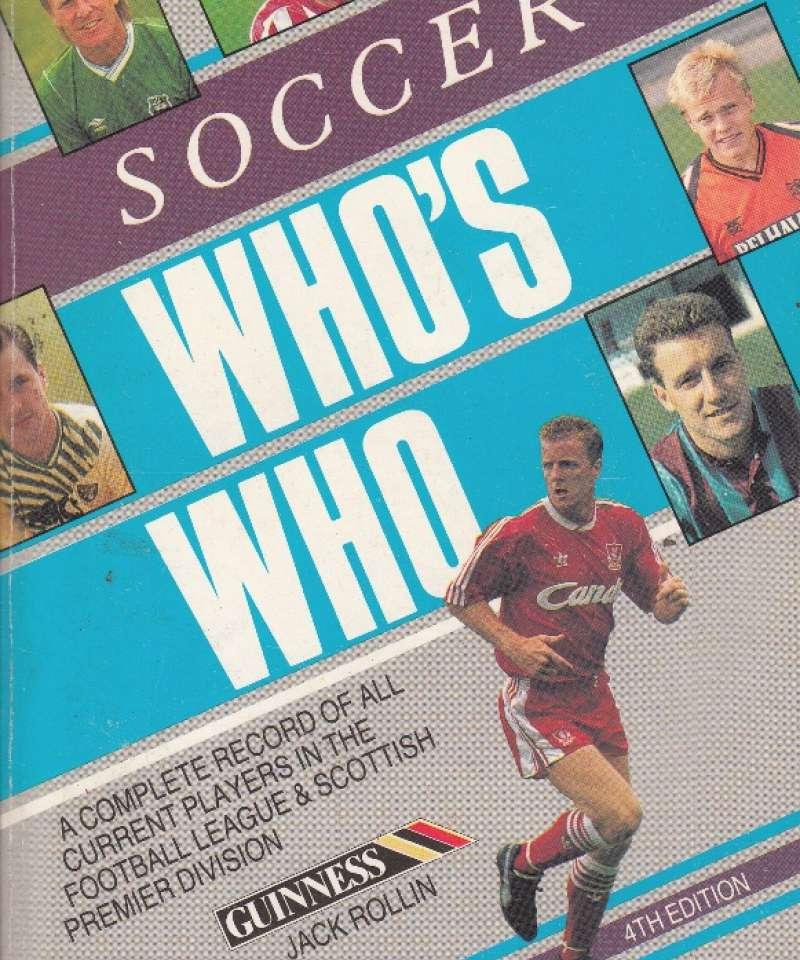 Soccer Who's who 1990 (Fra Arne Scheies samlinger)