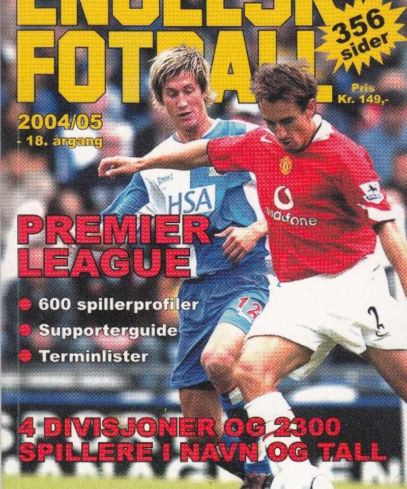 Engelsk fotball 2004/05 (Fra Arne Scheies samlinger)