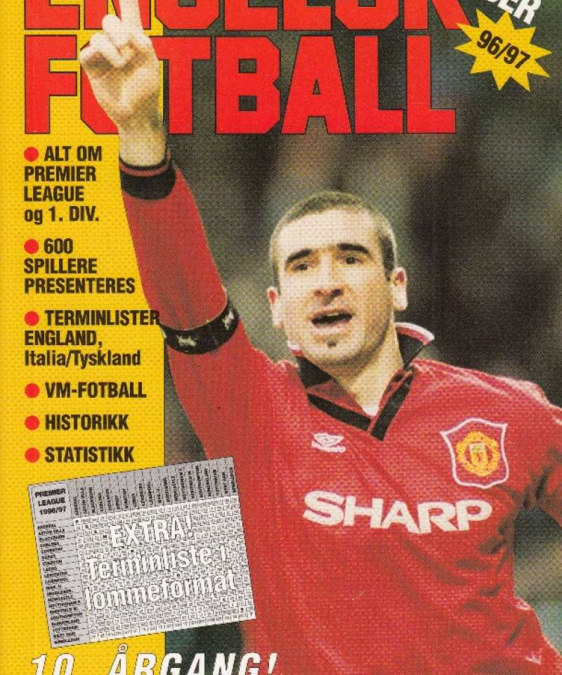 Engelsk fotball 96/97 (Fra Arne Scheies samlinger)