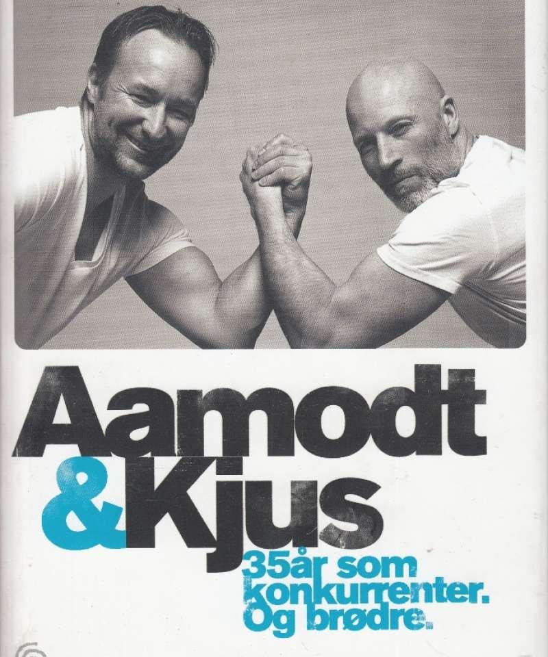 Aamodt & Kjus. 35 år som konkurrenter. Og brødre. (Fra Arne Scheies samlinger.)