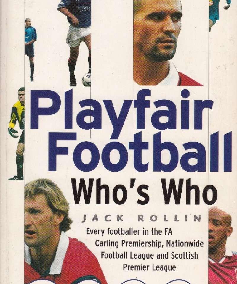 Playfair Football Who's Who 2000 (Fra Arne Scheies samlinger)