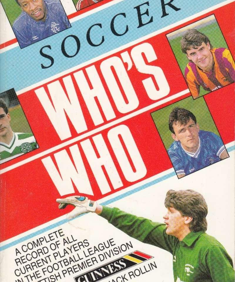 Soccer Who's Who 1989 (Fra Arne Scheies samlinger)