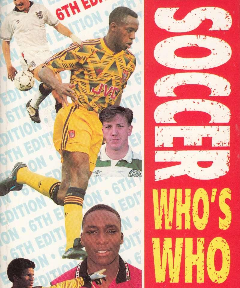 Soccer Who's Who 1992 (Fra Arne Scheies samlinger)