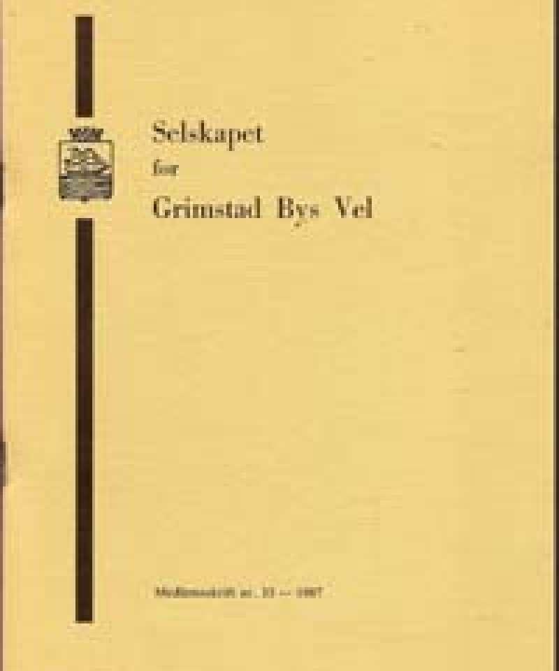 Selskapet for Grimstad Bys Vel - 33
