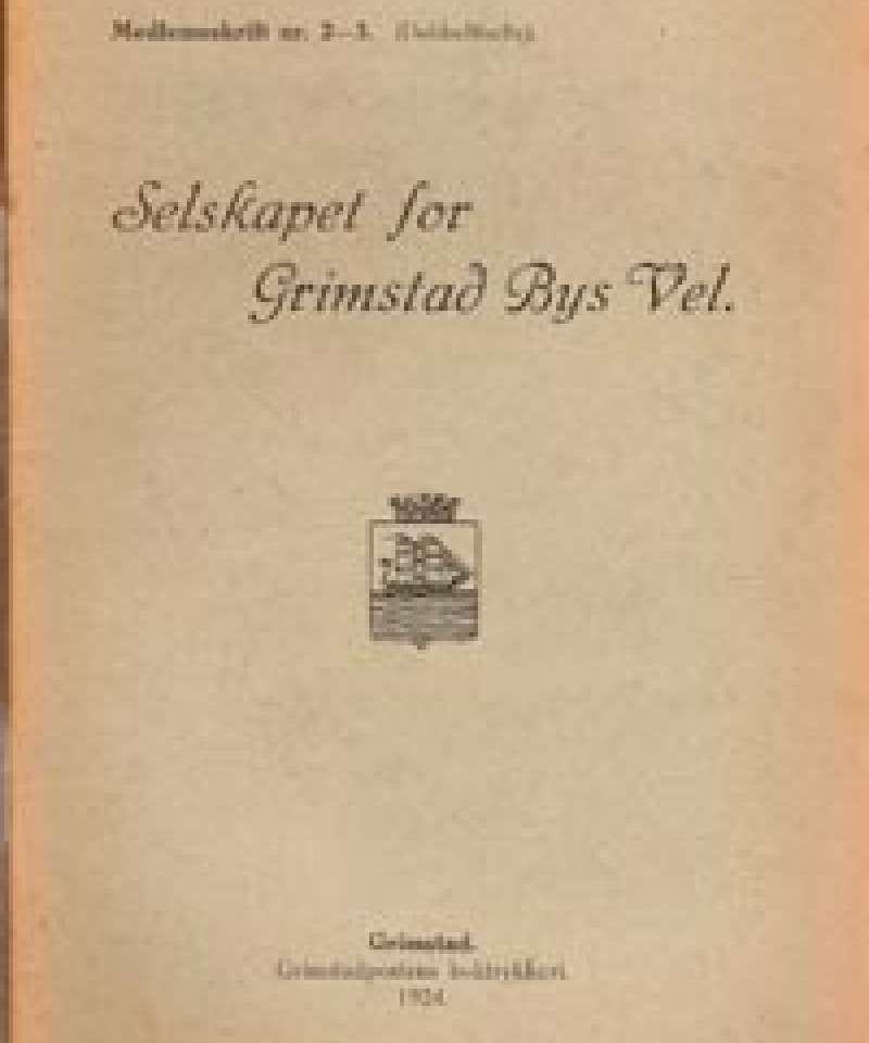 Selskapet for Grimstad Bys Vel - 2-3