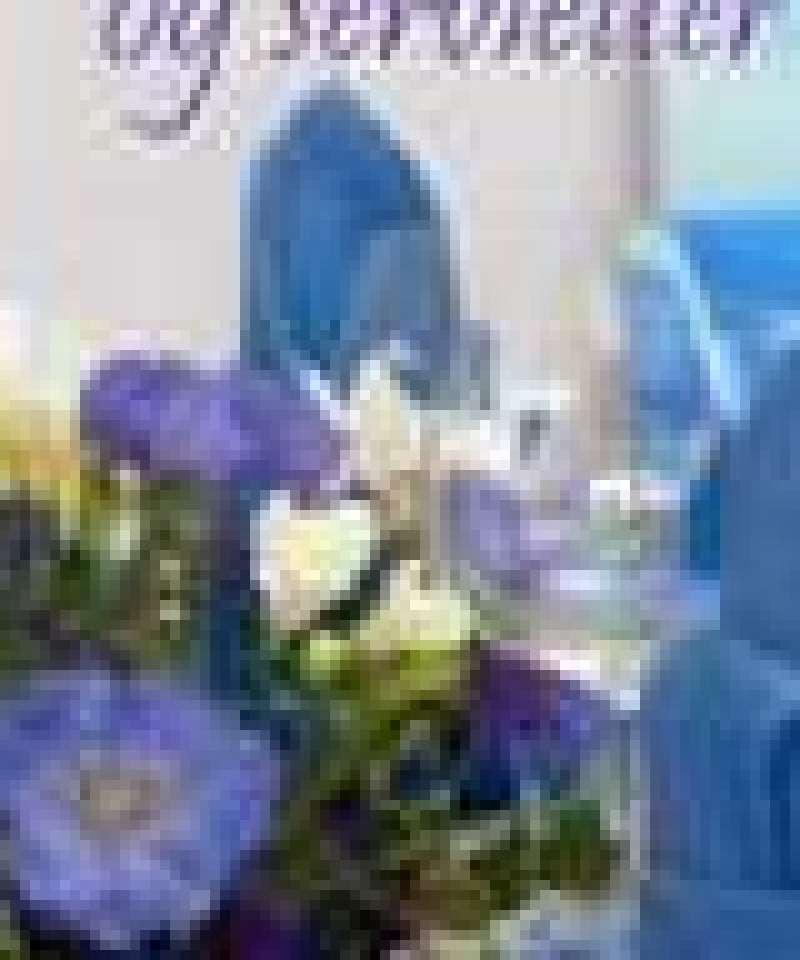 Blomster og servietter