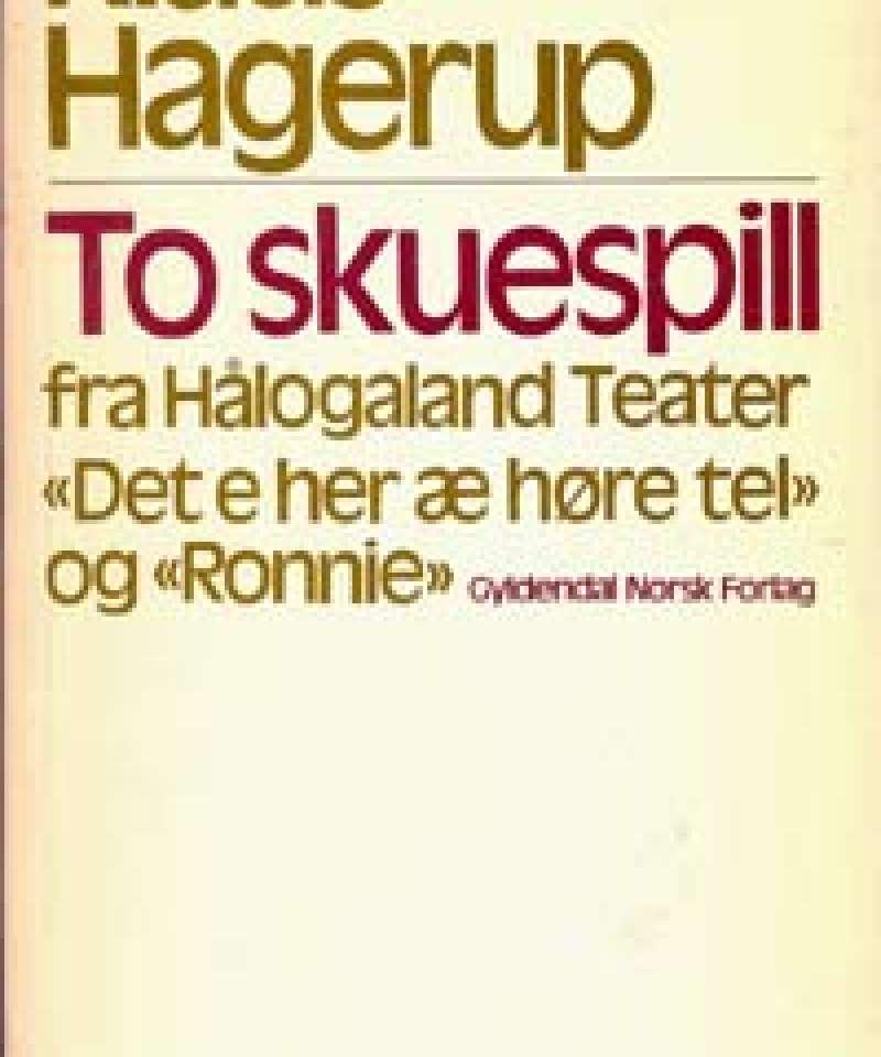To skuespill fra Hålogaland Teater