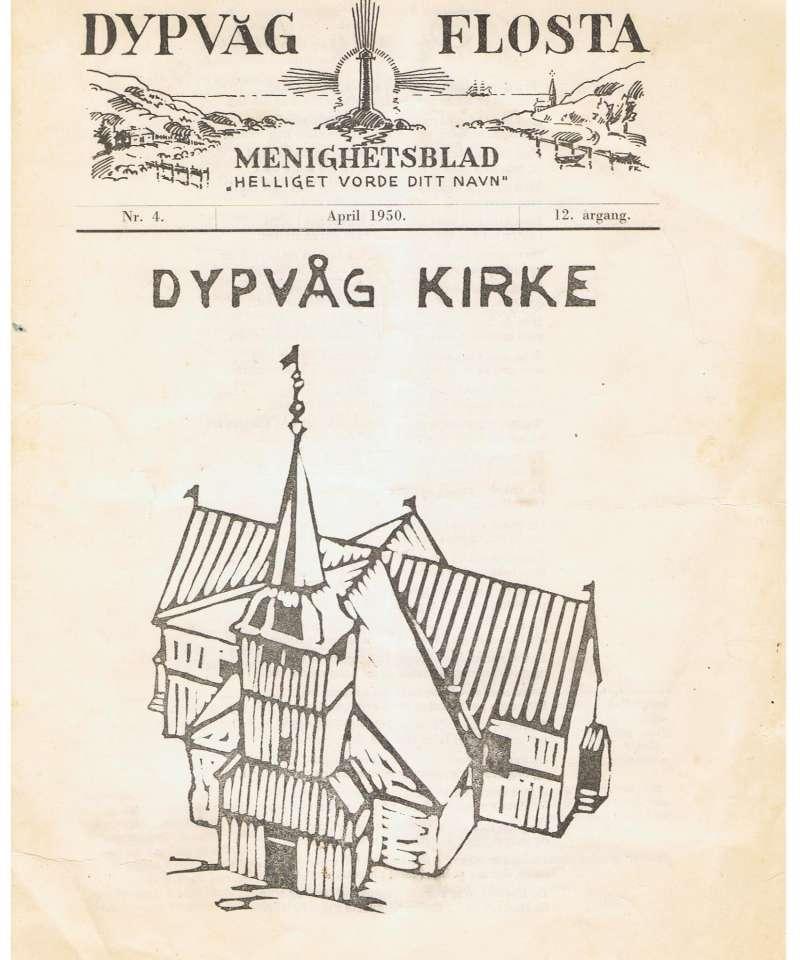 Dypvåg og Flosta Menighetsblad: Dypvåg Kirke