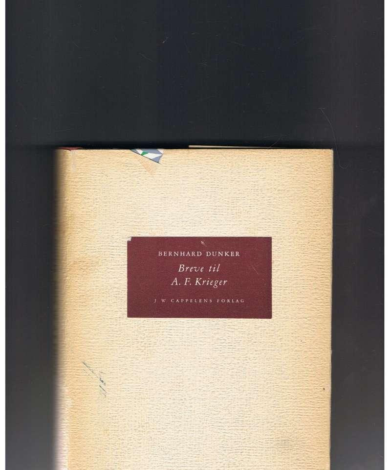 Breve til A. F. Krieger