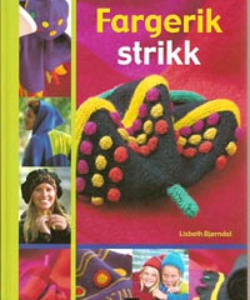 Fargerik strikk