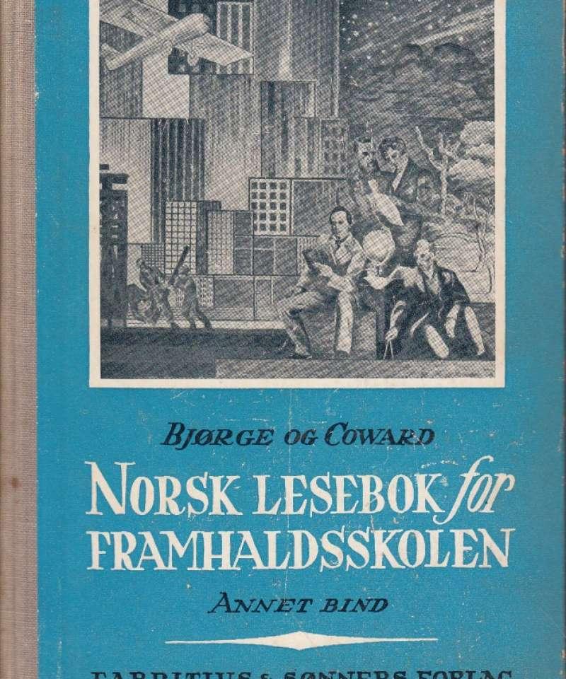 Norsk lesebok for framhaldsskolen - Annet bind