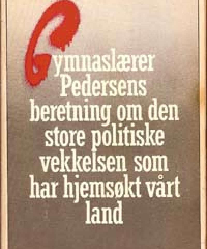 Gymnaslærer Pedersens beretning..