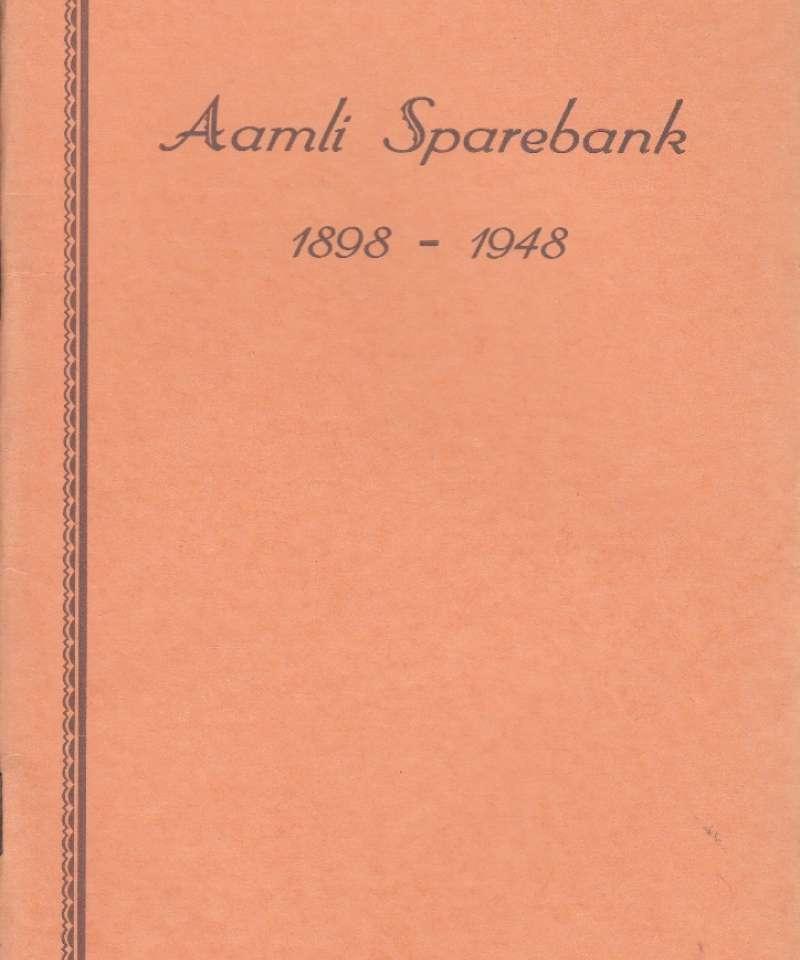 Aamli Sparebank 1898-1948