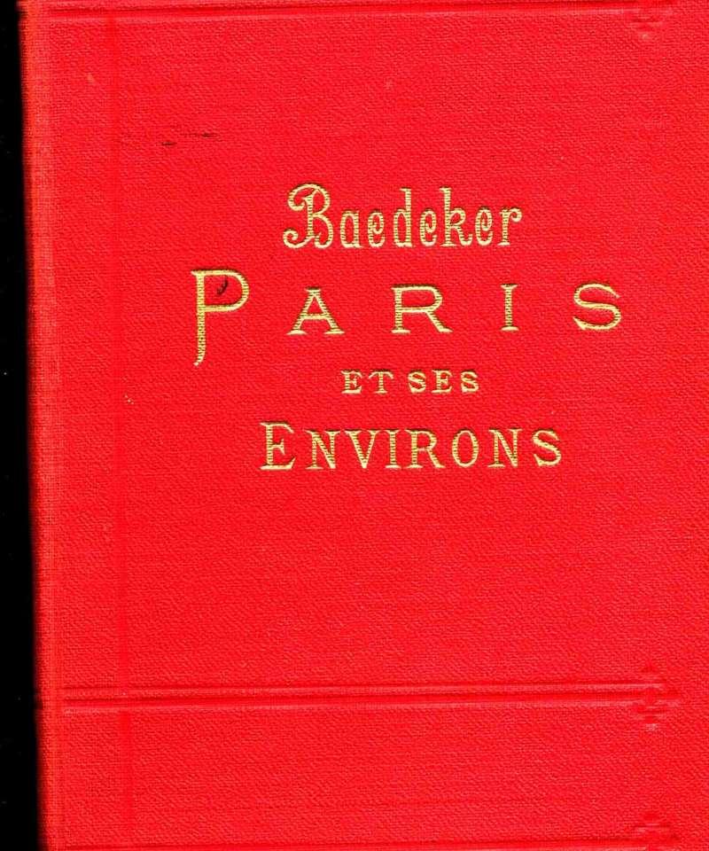 Baedeker Paris et ses environs