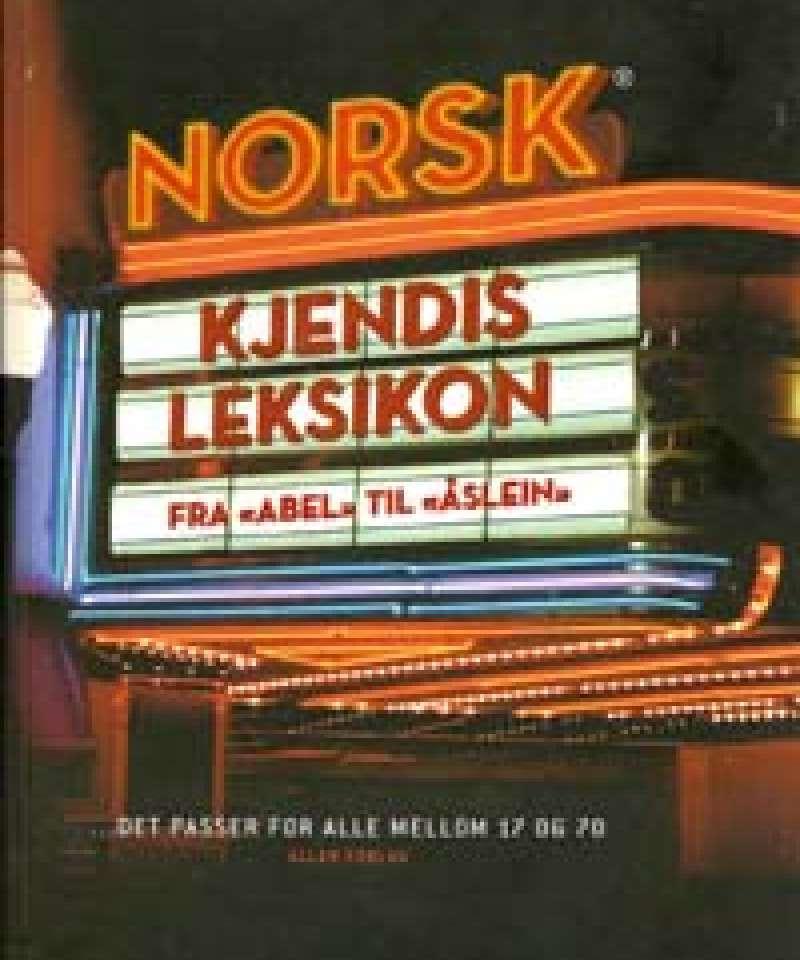Norsk kjendisleksikon