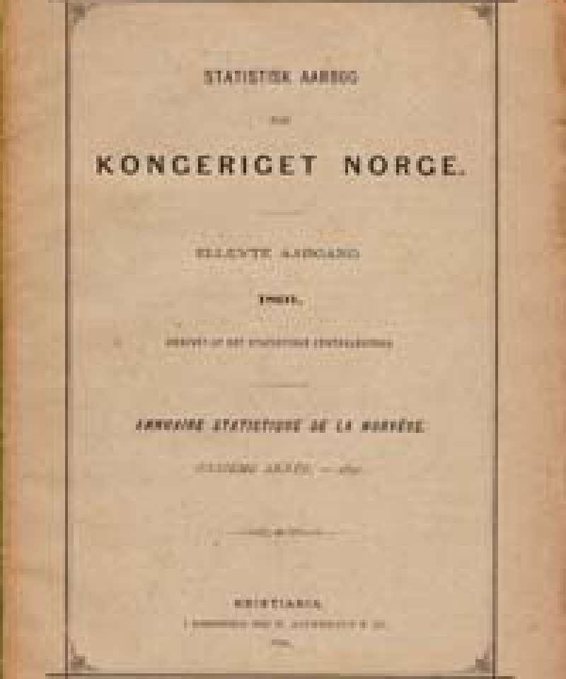 Statistisk aarbog for Kongeriget Norge