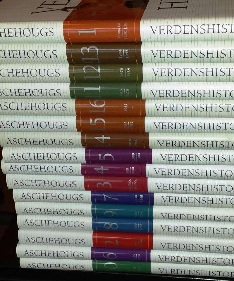 Aschehougs Verdenshistorie 1-16