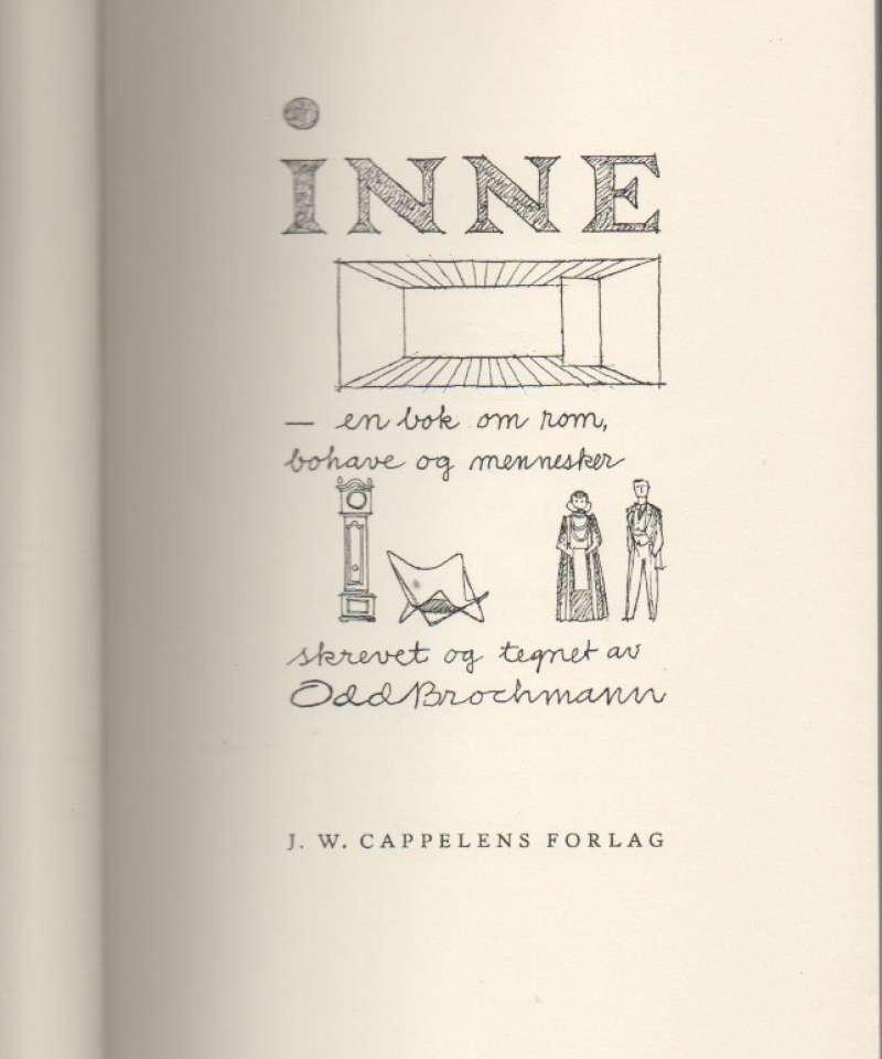Inne – en bok om rom, bohave og mennesker