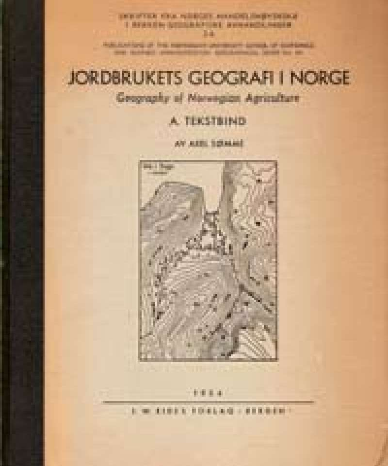 Jordbrukets geografi i Norge