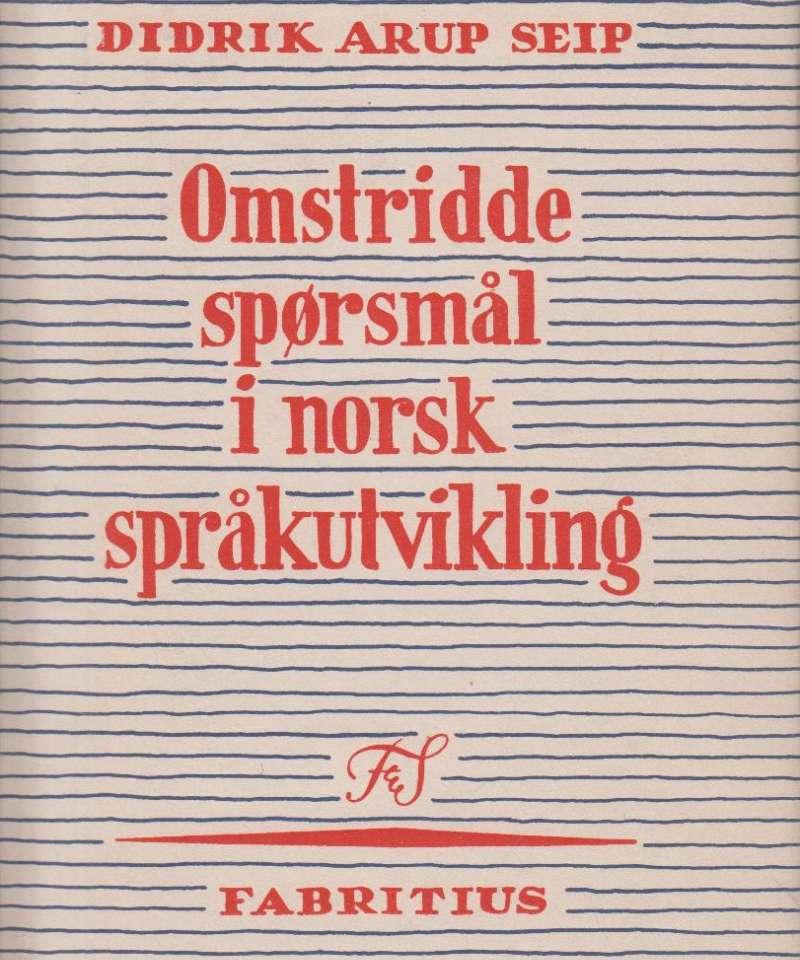 Omstridde spørsmål i norsk språkutvikling