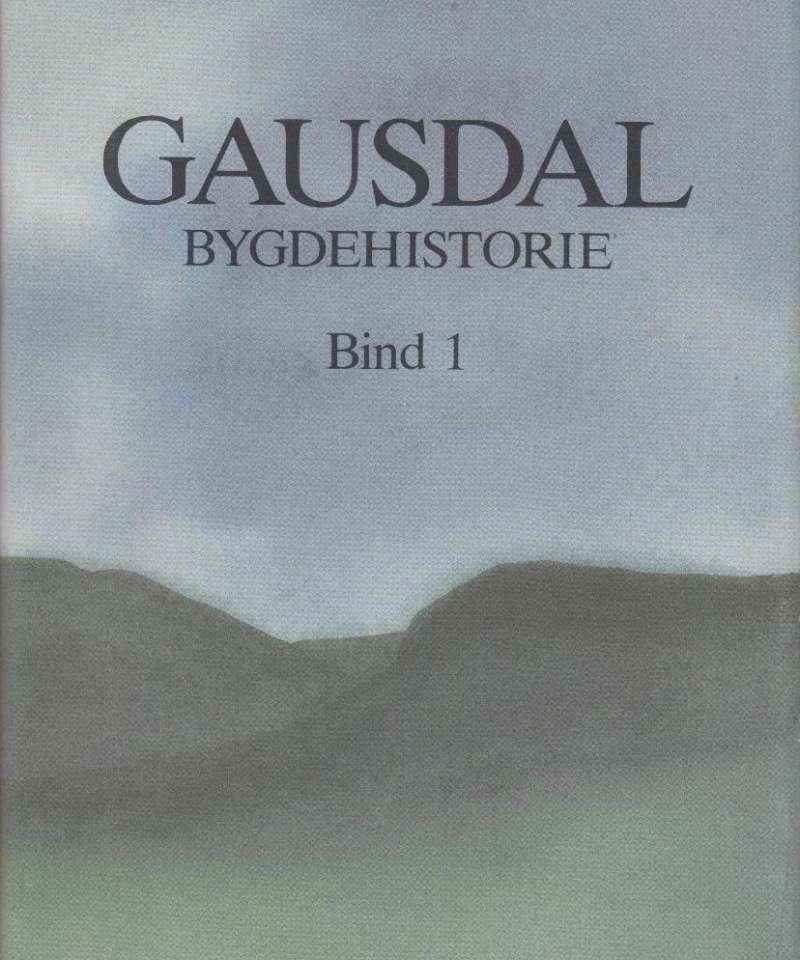 Gausdal Bygdehistorie Bind 1 - Fra istid til vikingtid