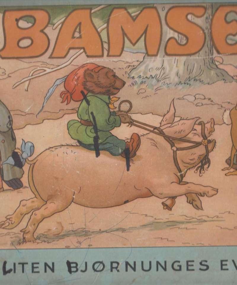 Bamse. En liten bjørnunges eventyr