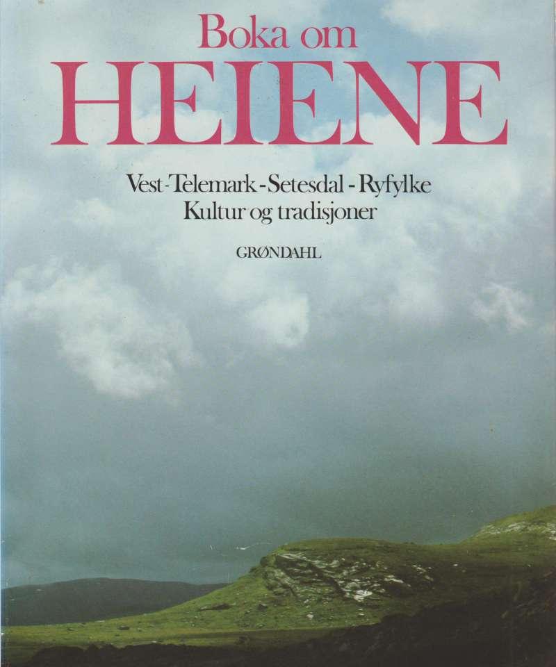 Boka om HEIENE Vest-Telemark - Setesdal - Ryfylke. Kultur og radisjoner