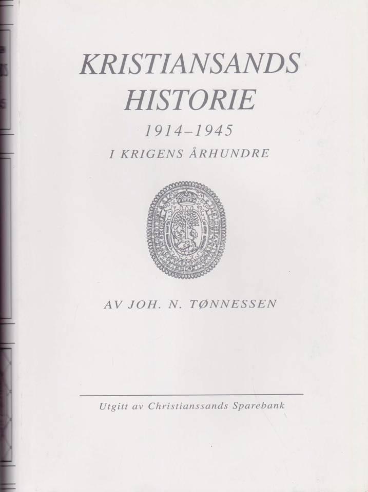 Kristiansands historie 1914-1945