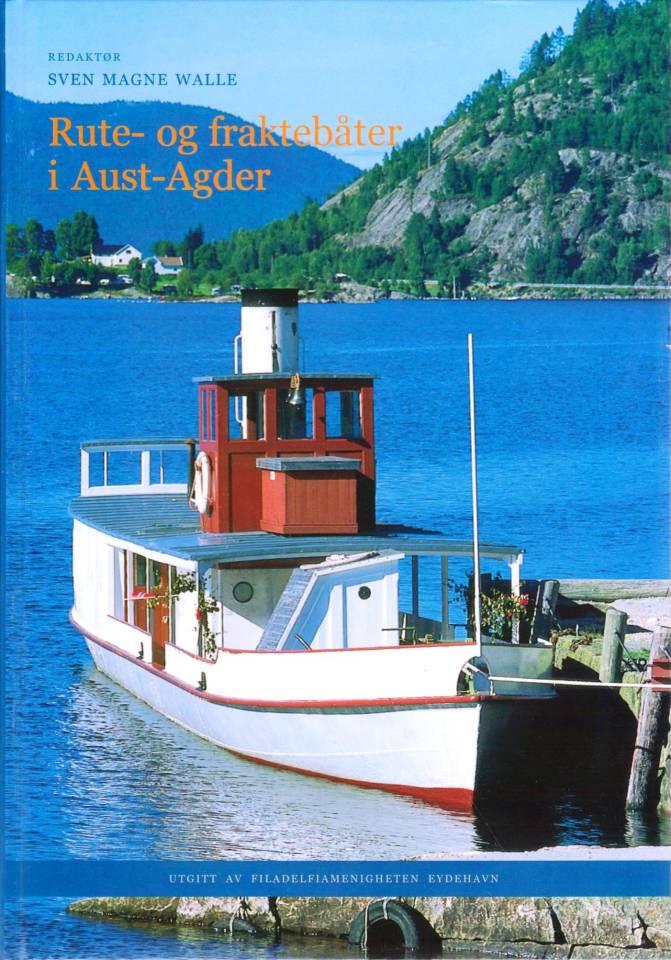 Rute- og fraktebåter i Aust-Agder