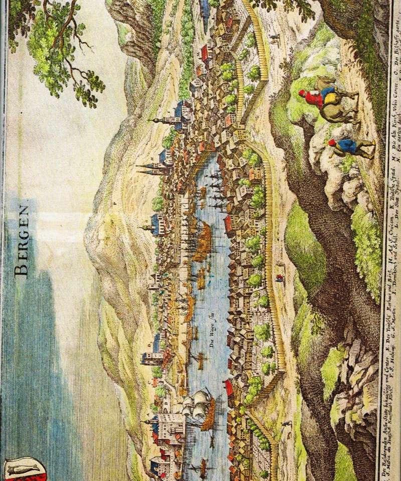 Den berømmelige handelsstad Bergen gjennom tidene