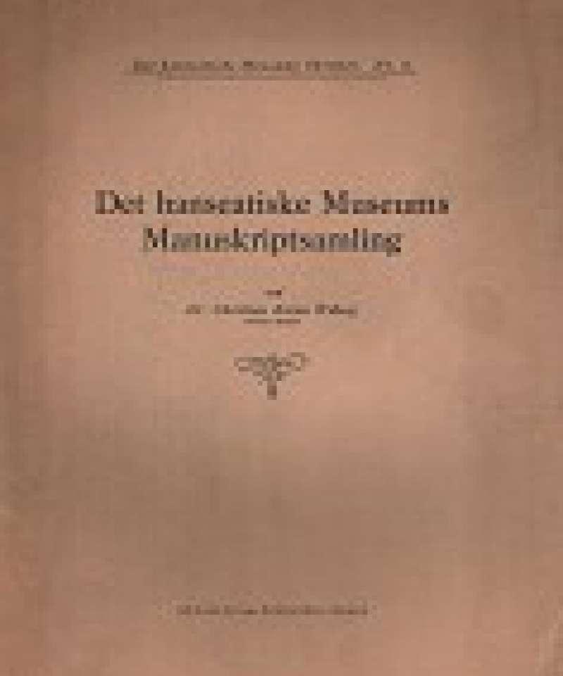 Det hanseatiske Museums Manuskriptsamling