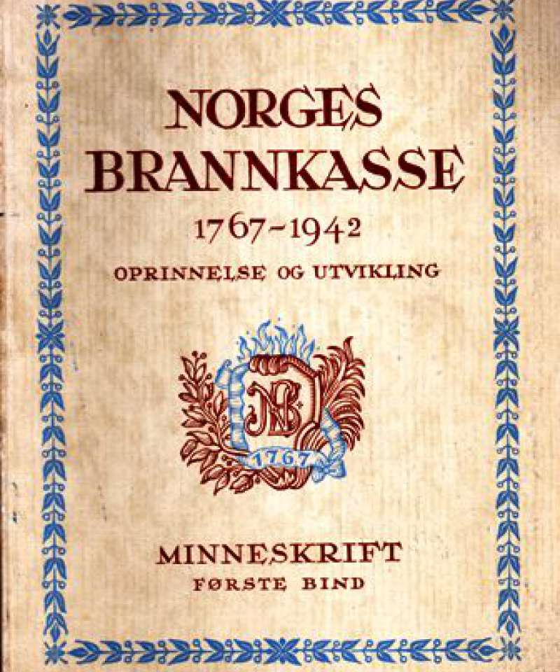 Norges Brannkasse 1767 - 1942
