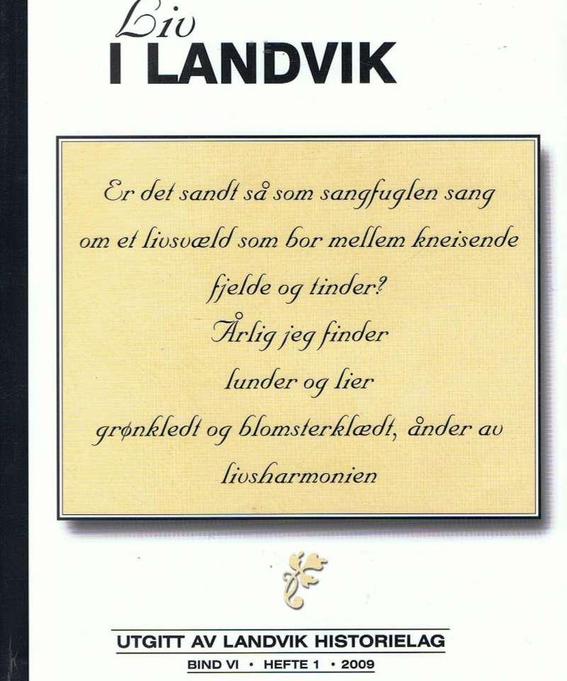Liv i Landvik, hefte 1 - 2009