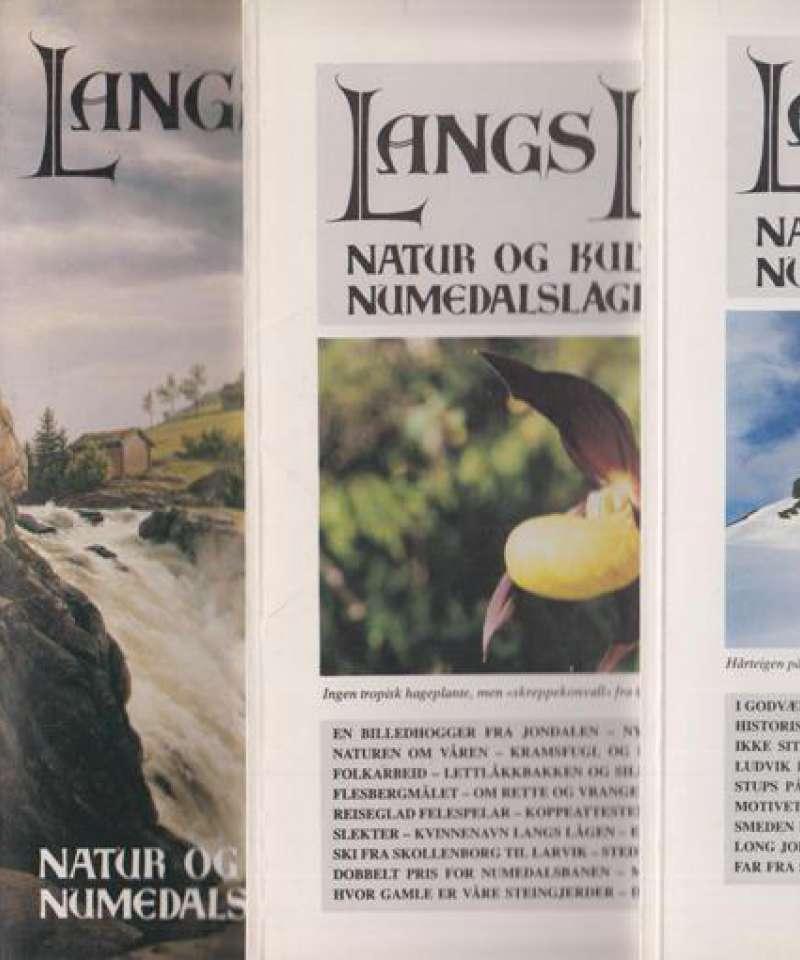 Langs Lågen 1991 1-4 (komplett årgang)