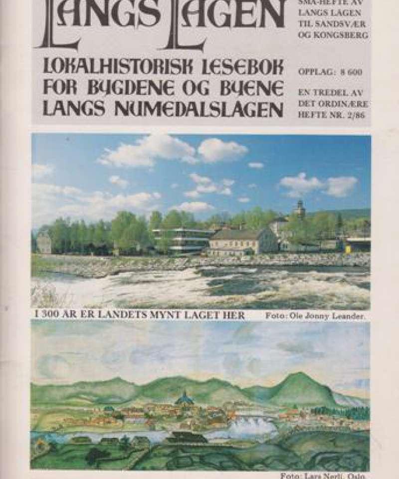 Langs Lågen - småhefte 2/86